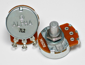 Alpha potmeters